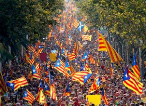 Día de Cataluña, Barcellona