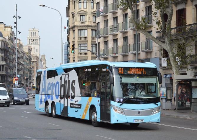 Aerobus Barcellona aeroporto El Prat