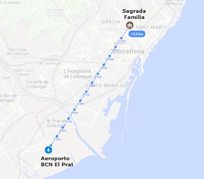 L'aeroporto di Barcellona