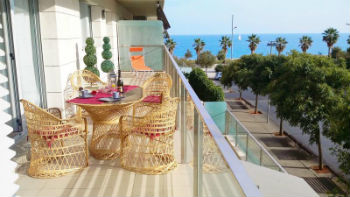Appartamento a Barceloneta, vista mare