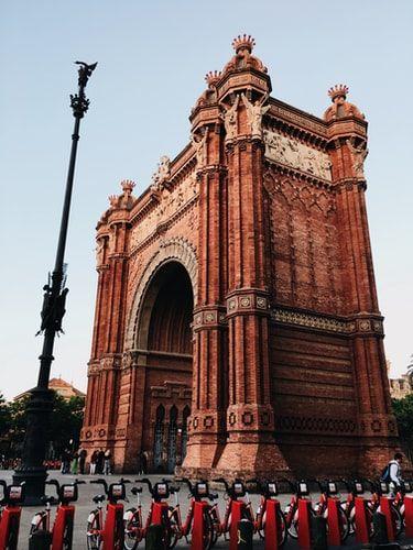 L'Arco di Trionfo di Barcellona
