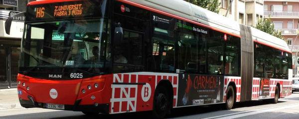 Autobus TMB Barcellona