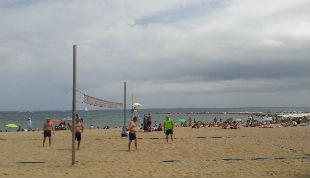 Beach Volley sulle spiagge di Barcellona