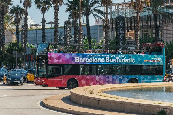 Bus turistico Barcellona