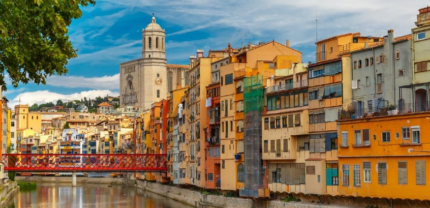 Cases Penjades, Girona