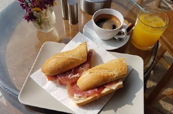 colazione salata a Barcellona