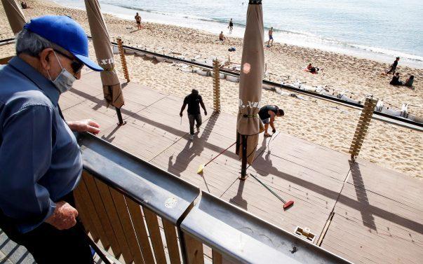 Spiaggia Barcellona post coronavirus