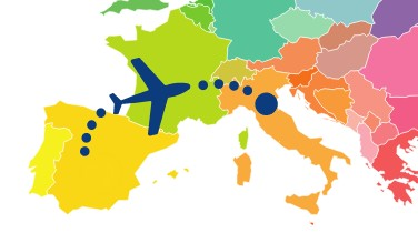 Viaggi dalla Spagna in Italia e Covid-19
