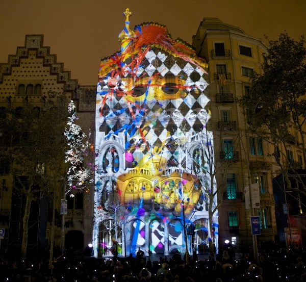 Casa Batlló, Festa de la Mercé di Barcellona