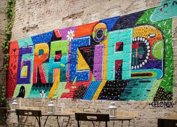 Quartiere di Gracia, Barcellona