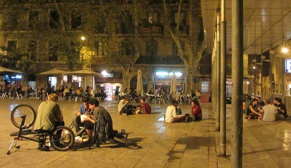 Vita Notturna a Gracia, Barcellona