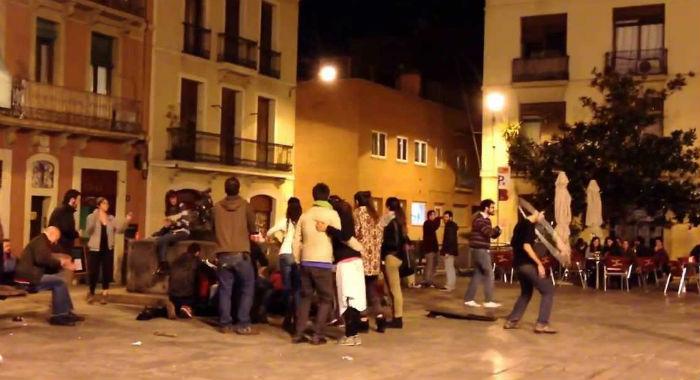 Vita notturna Gracia, Barcellona