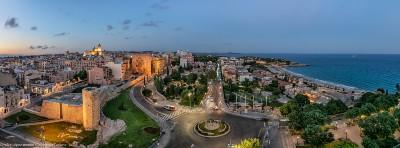 Vista dall'hotel H10 di Tarragona