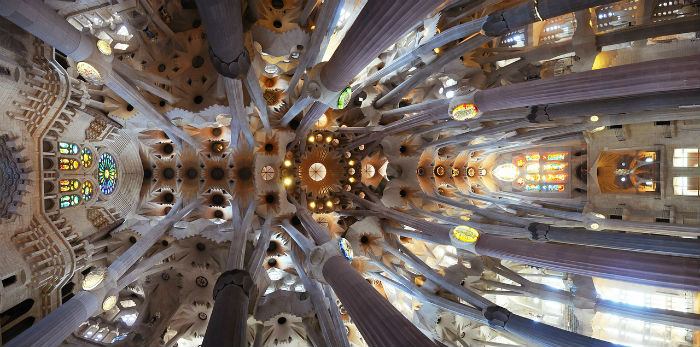 Interni Sagrada Familia