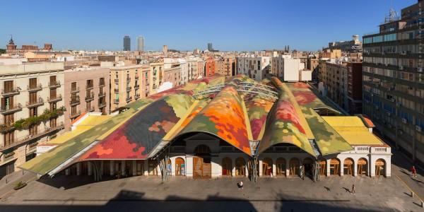 Mercato di Santa Caterina a Barcellona