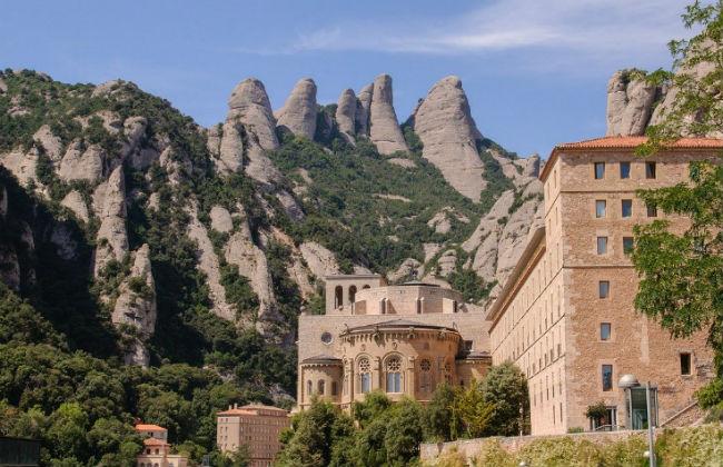 Monastero Montserrat da Barcellona