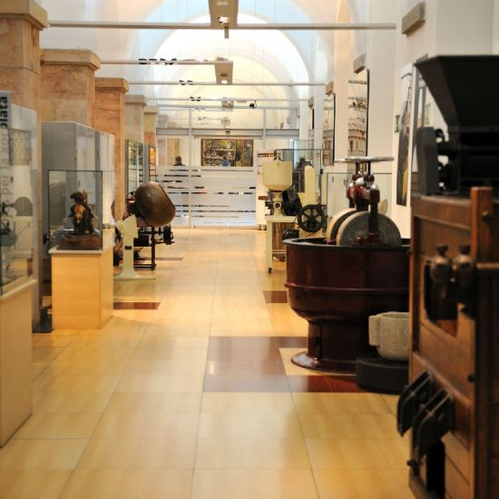 Interno del Museo del cioccolato