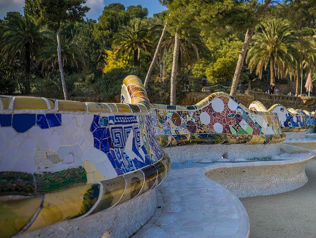 Parc Guell Barcellona, Plaça de la Natura