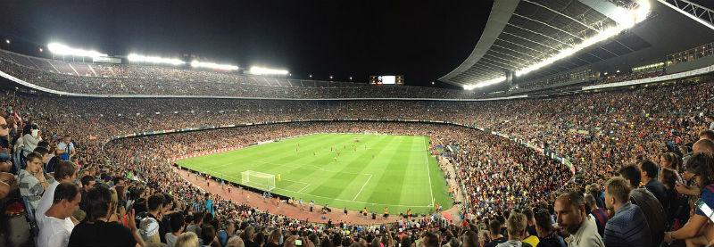 Partita al Camp Nou