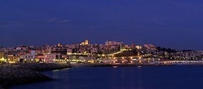 Tarragona dal Paseo de la Escullera
