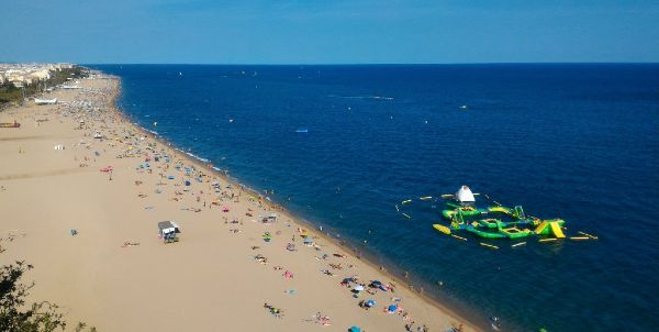 Playa de Garbi, Calella