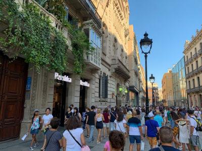 Portal de l'Angel, via dello shopping Barcellona