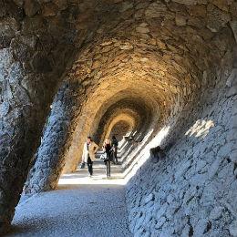 Portico della lavandaia, Parc Guell