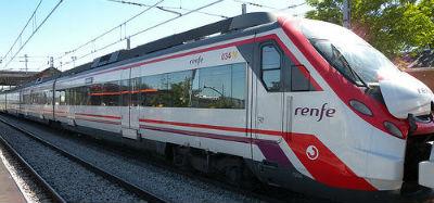 Treno Renfe dall'aeroporto di Barcellona