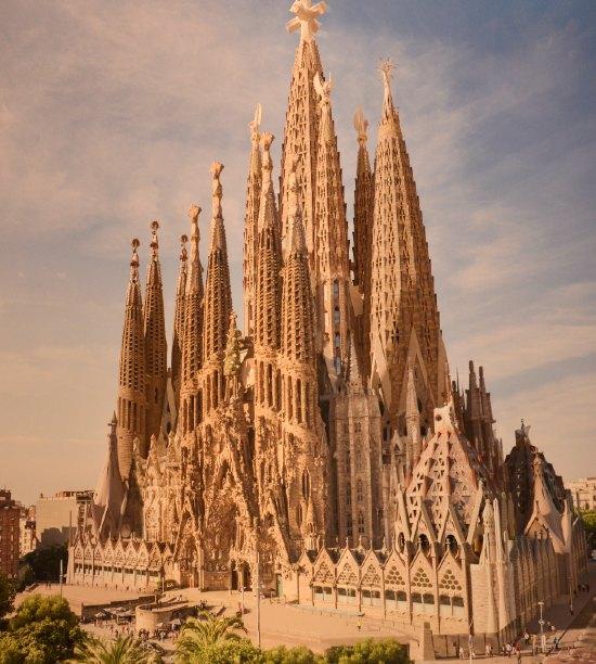 Sagrada Familia, progetto completato