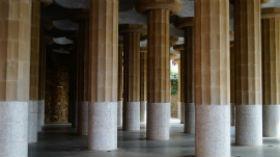Sala Hipostila, Parc Guell