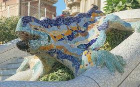 Salamandra, Parc Guell, Barcellona