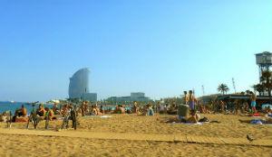 Spiaggia Sant Sebastià, Barcellona
