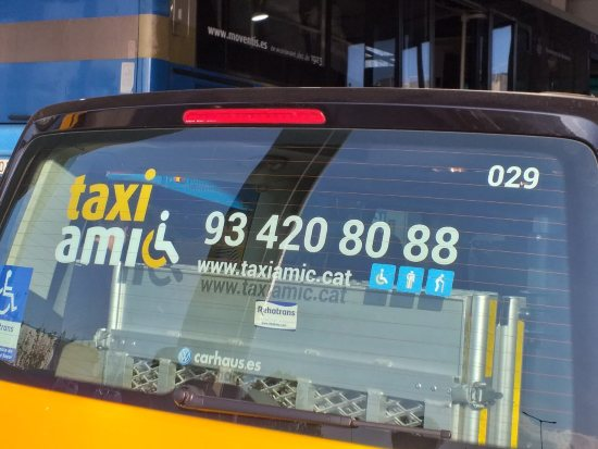 Taxi Amic - taxi accessibili Barcellona